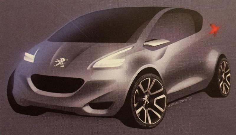 [Présentation] Le design par Peugeot - Page 10 P110