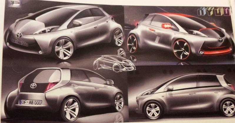 [Présentation] Le design par Toyota T110