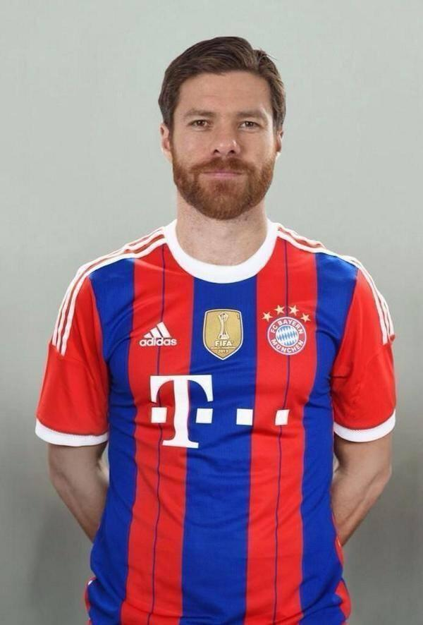 [14] [Mittelfeld] Xabi Alonso Bayern10