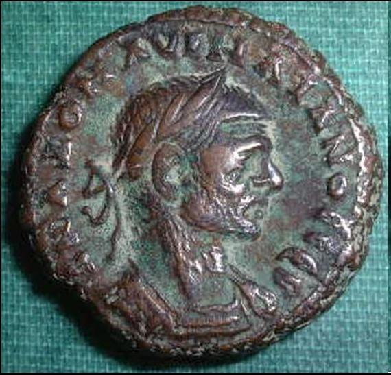 Tétradrachme d'Aurélien pour Alexandrie Aureli12
