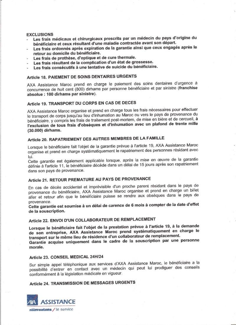 étrangers - AXA : assistance des résidents étrangers au Maroc 13321716