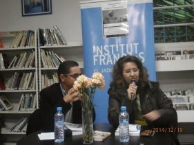"""Karima Yatribi au café littéraire : """"Ahmed SEFRIOUI, entre l'oubli et la réhabilitation"""" (compte rendu) Pc190012"""