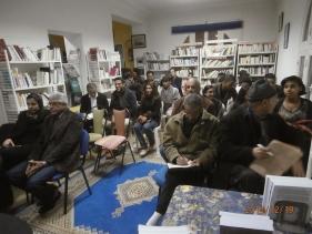 """Karima Yatribi au café littéraire : """"Ahmed SEFRIOUI, entre l'oubli et la réhabilitation"""" (compte rendu) Pc190013"""