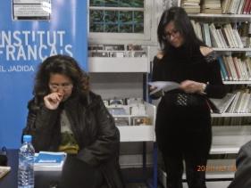 """Karima Yatribi au café littéraire : """"Ahmed SEFRIOUI, entre l'oubli et la réhabilitation"""" (compte rendu) Pc190014"""
