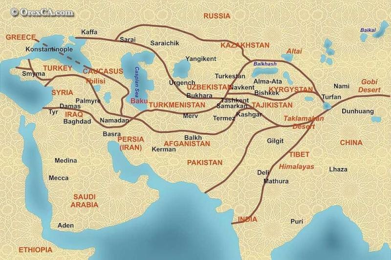 Le réveil de l'Eurasie au XXIème siècle... Route210