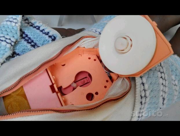 Bambolotto Minifon '70 disco e vestito FUNZIONA 56080410