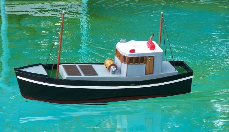 "Inshore fishing boat ""Talisman"" / Ein Recycling-Modell Probe_10"