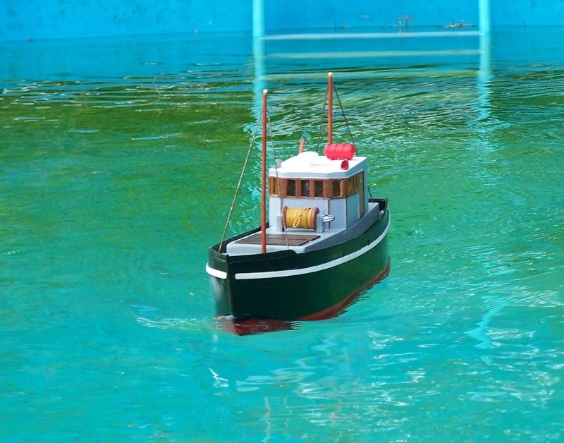 "Inshore fishing boat ""Talisman"" / Ein Recycling-Modell Probe_12"