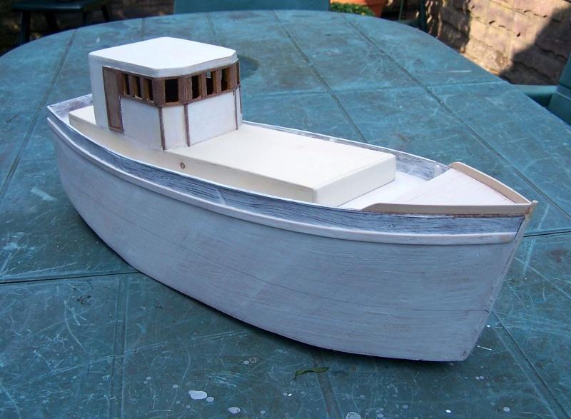 "Inshore fishing boat ""Talisman"" / Ein Recycling-Modell Tm2210"