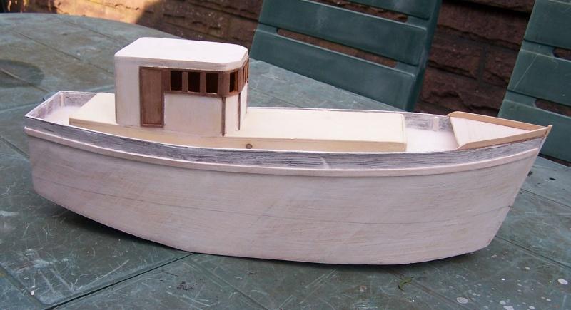"Inshore fishing boat ""Talisman"" / Ein Recycling-Modell Tm2310"