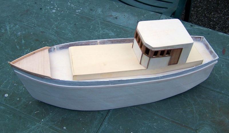 "Inshore fishing boat ""Talisman"" / Ein Recycling-Modell Tm2410"