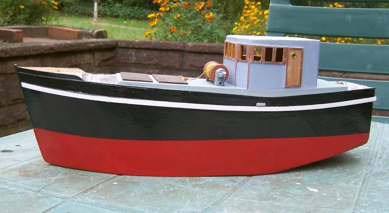 "Inshore fishing boat ""Talisman"" / Ein Recycling-Modell Tm2710"