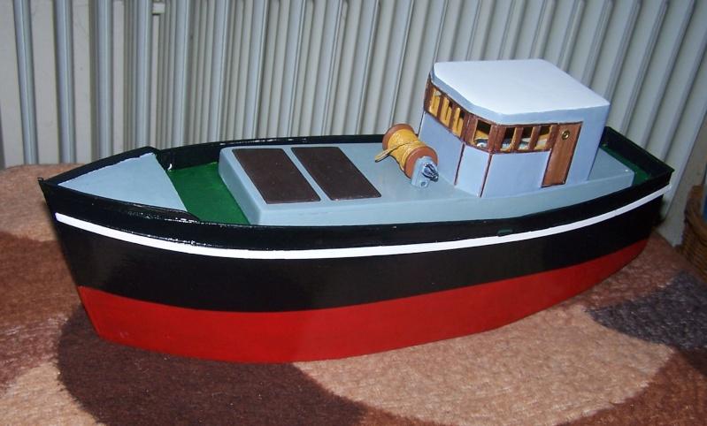 "Inshore fishing boat ""Talisman"" / Ein Recycling-Modell Tm3110"