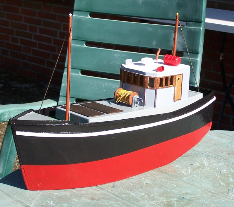 "Inshore fishing boat ""Talisman"" / Ein Recycling-Modell Tm3410"