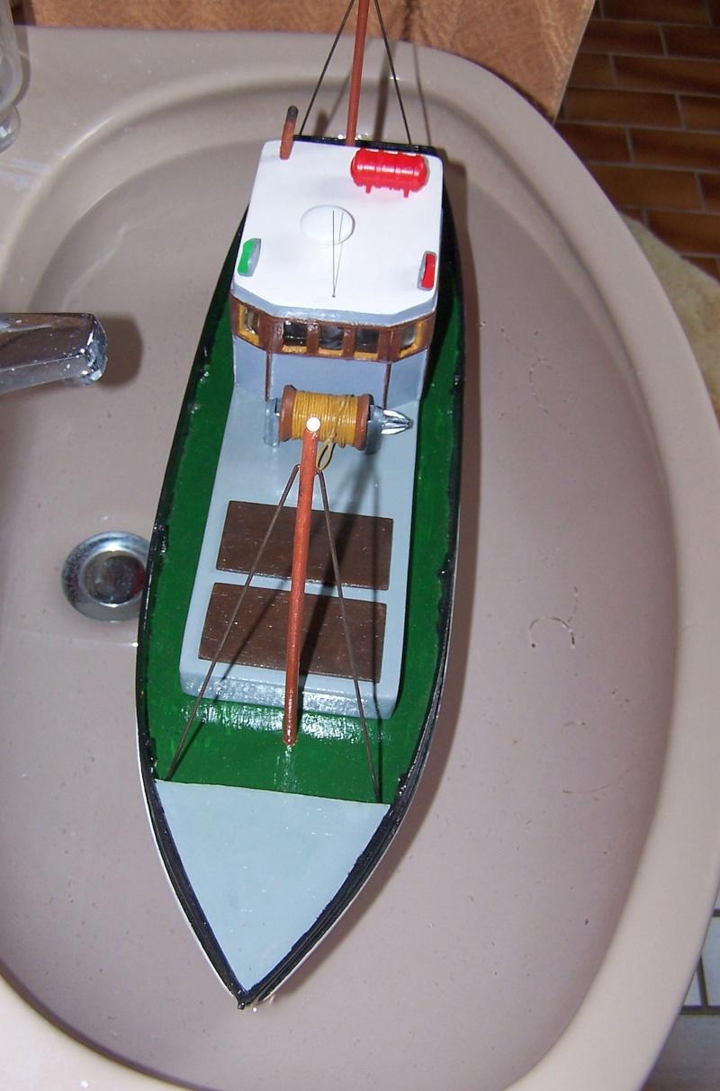 "Inshore fishing boat ""Talisman"" / Ein Recycling-Modell Tm3710"