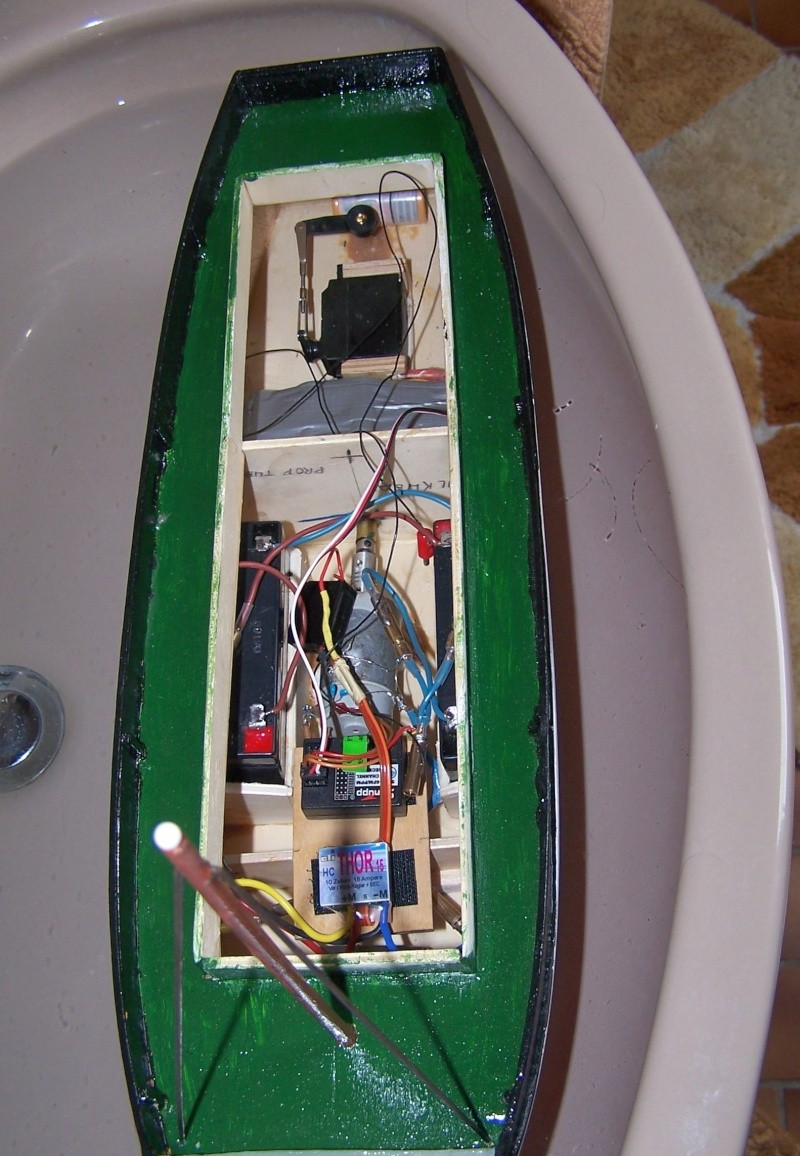 "Inshore fishing boat ""Talisman"" / Ein Recycling-Modell Tm3810"