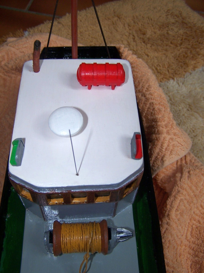 "Inshore fishing boat ""Talisman"" / Ein Recycling-Modell Tm3910"