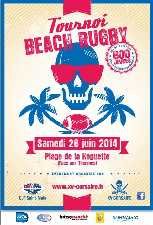 Beach rugby à Saint Malo 10505511