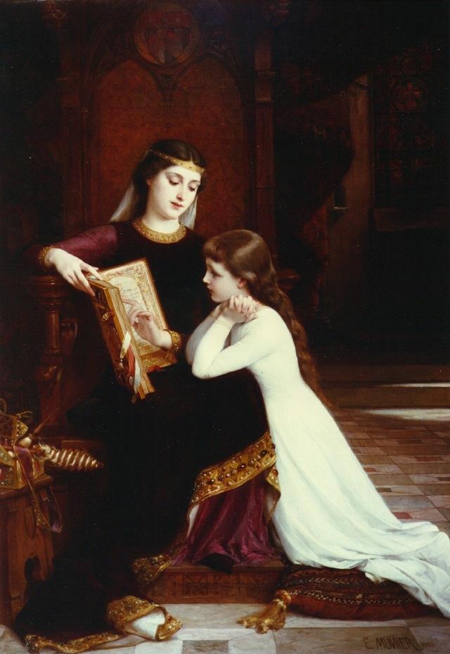 Ambroise, baronne de Marsan, Maison de Gascogne, vassal du Roy Philippe Auguste La-fem10
