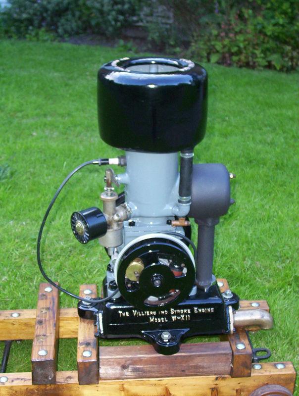 amanco opencrank 2 1/4 hp petrol paraffin  under the spanners Villie10