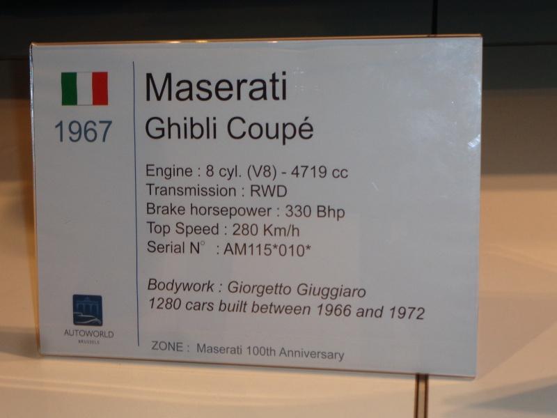 Les 100 ans de Maserati Dsc03311