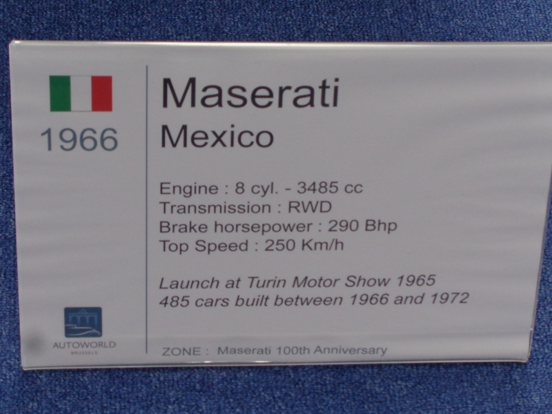 Les 100 ans de Maserati Dsc03513