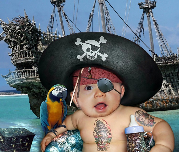 anniverssaire pirate If-pir10