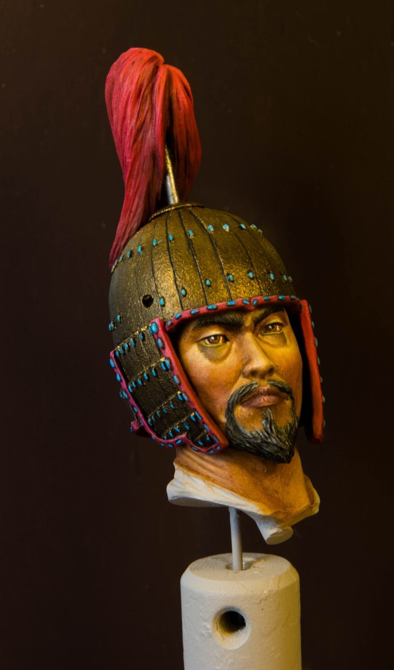 Goguryeo Heavy Cavalry Officer 5th Century AD par Young B Song Buste_10