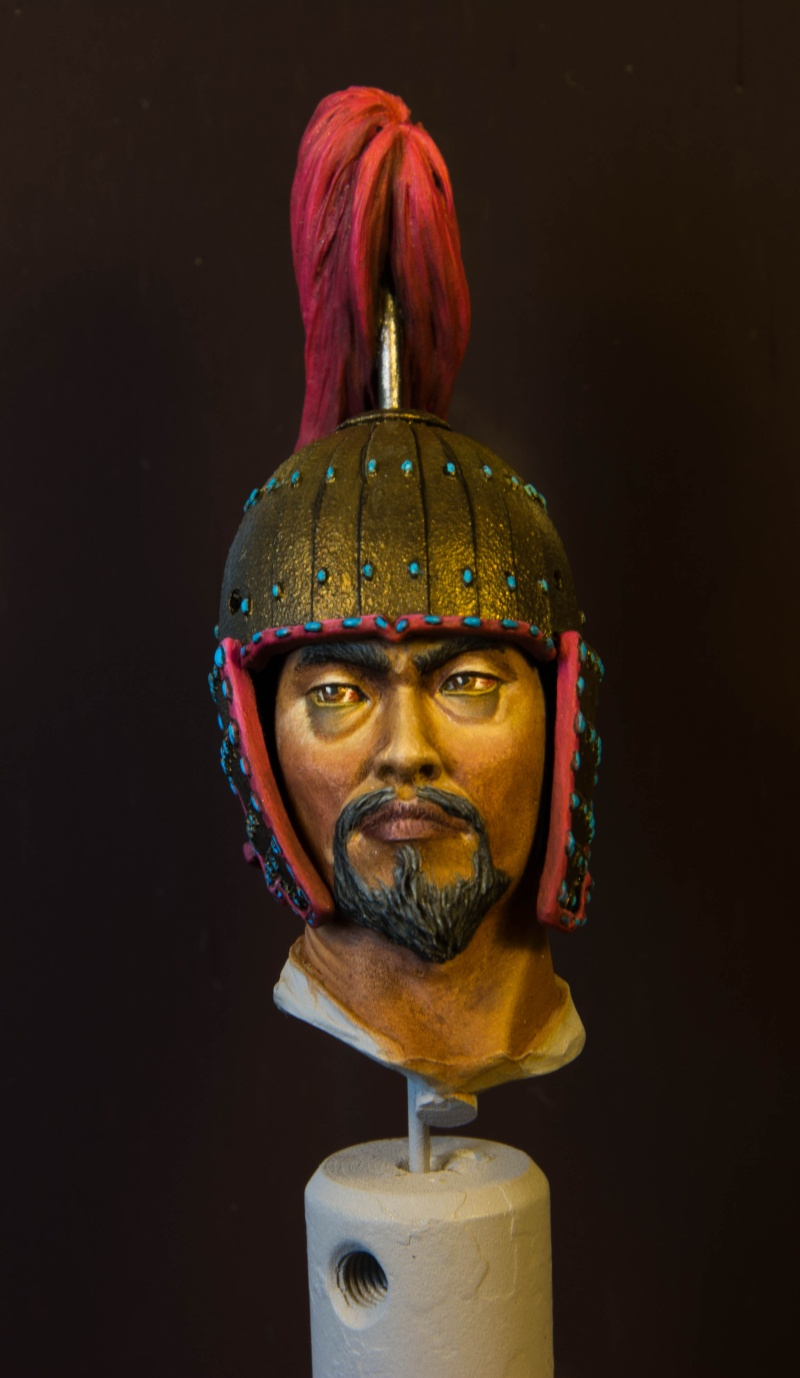 Goguryeo Heavy Cavalry Officer 5th Century AD par Young B Song Buste_11