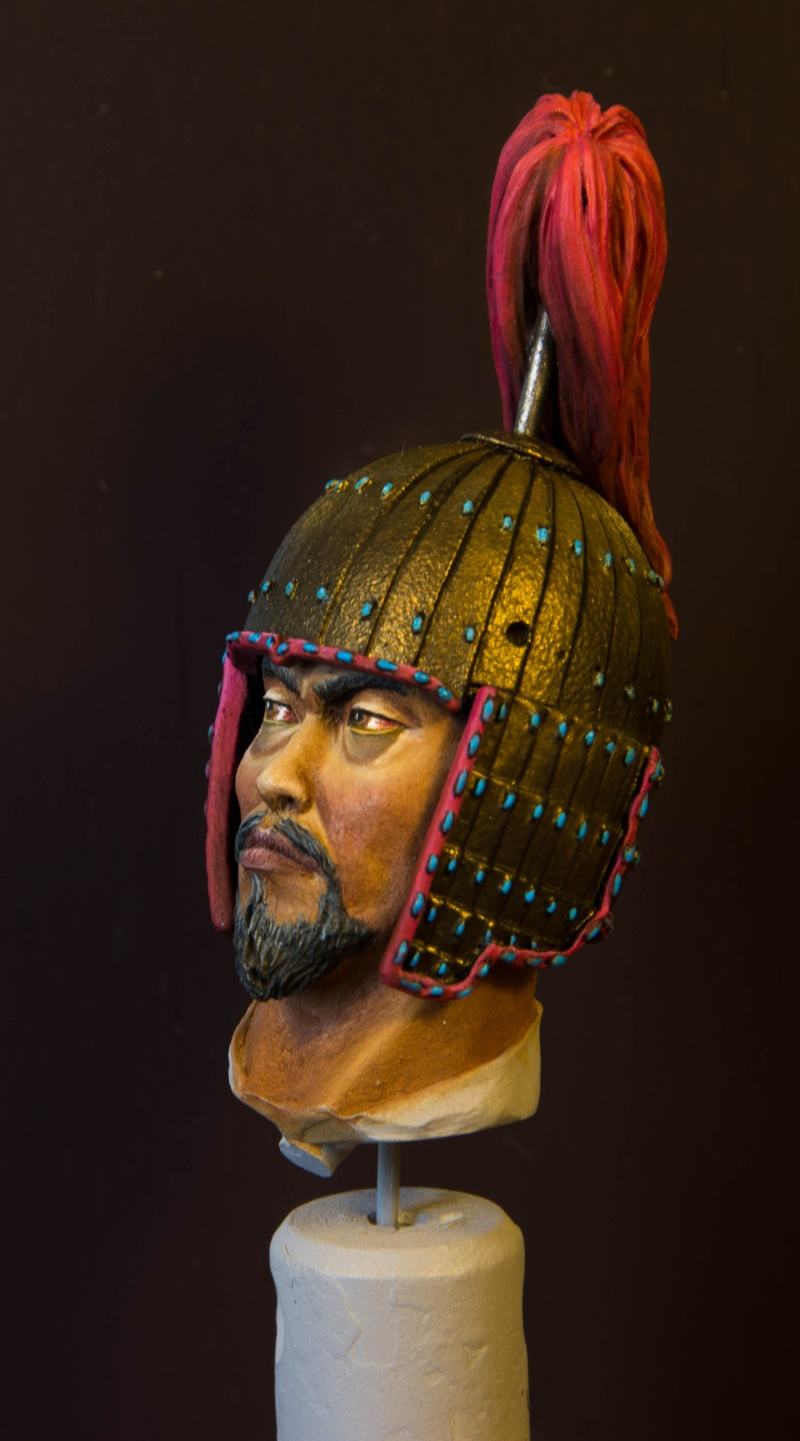 Goguryeo Heavy Cavalry Officer 5th Century AD par Young B Song Buste_12