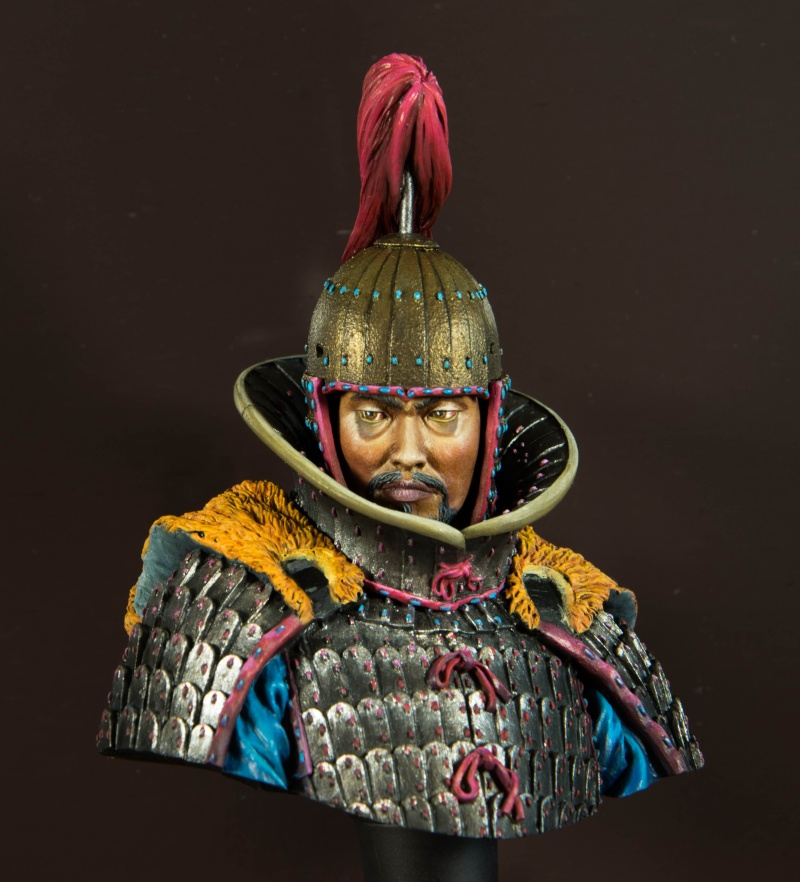 Goguryeo Heavy Cavalry Officer 5th Century AD par Young B Song - Page 2 Buste_14