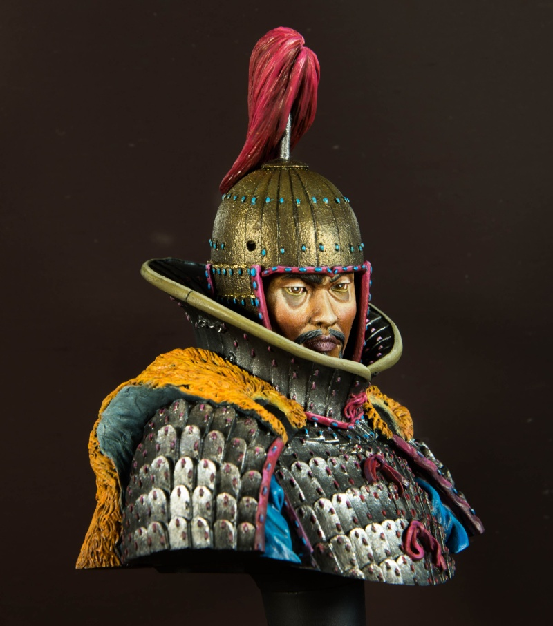 Goguryeo Heavy Cavalry Officer 5th Century AD par Young B Song - Page 2 Buste_15