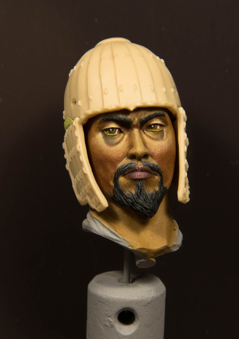 Goguryeo Heavy Cavalry Officer 5th Century AD par Young B Song Guerri10