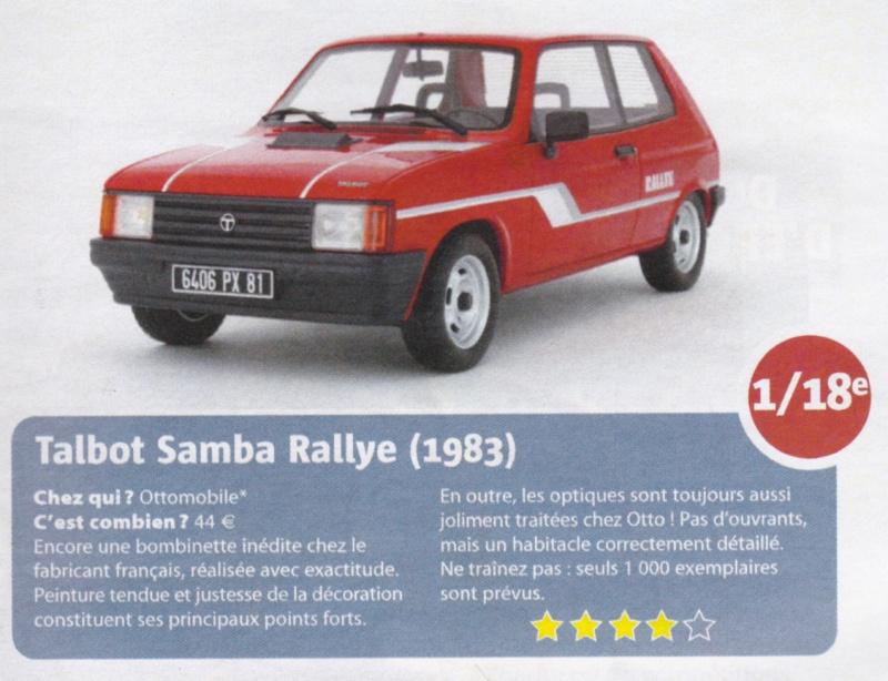 Samba rallye au 1/18 - Page 3 Critiq10