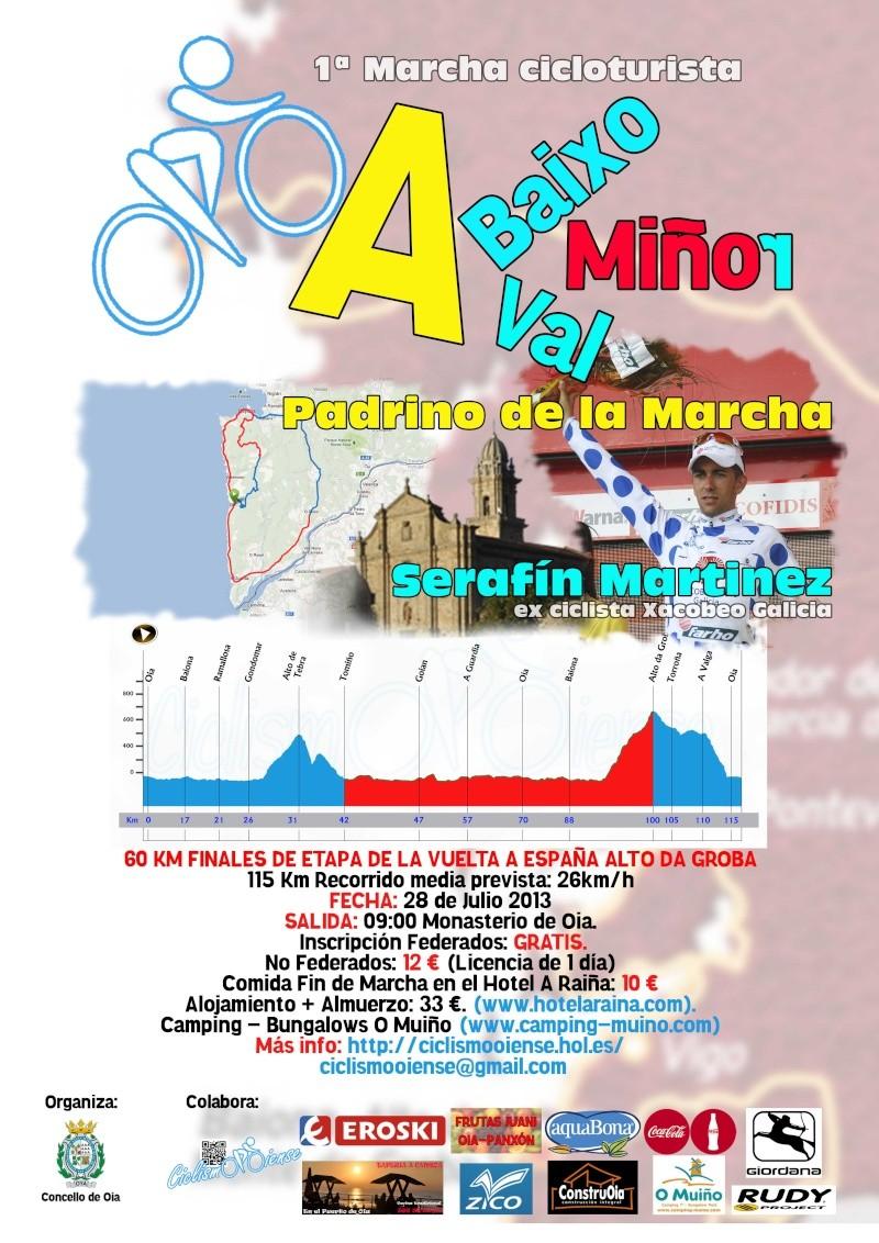 1ª Marcha Cicloturista 28 Julio Ciclismo Oiense Cartel10
