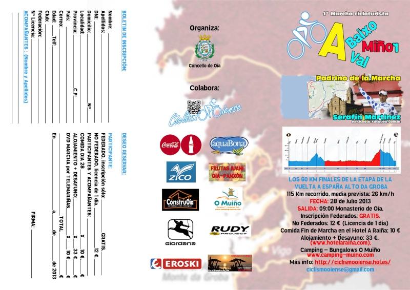 1ª Marcha Cicloturista 28 Julio Ciclismo Oiense Portad10