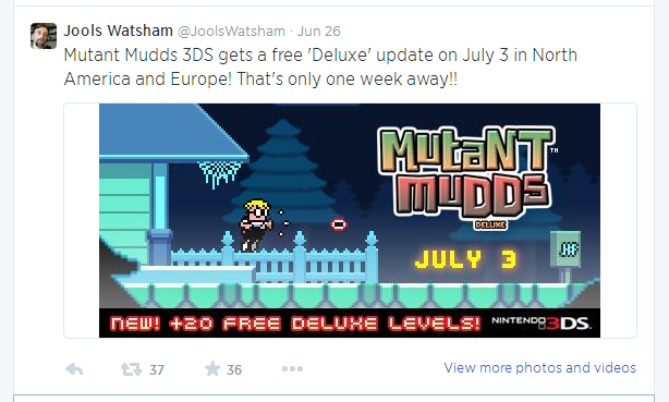 eshop: Free Mutant Mudds Deluxe Update Arrives On The 3DS In NA And EU On July 3rd! Jools_10