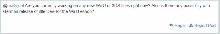 eshop: ittle Dew Still Has A Chance To Release On The German Wii U eshop! Twitlo10