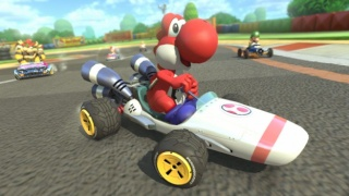 DLC: B Dasher Kart From Mario Kart DS Will Be One of The New Vehicles Added To MK8 Via The First DLC Pack Zlcfzs10