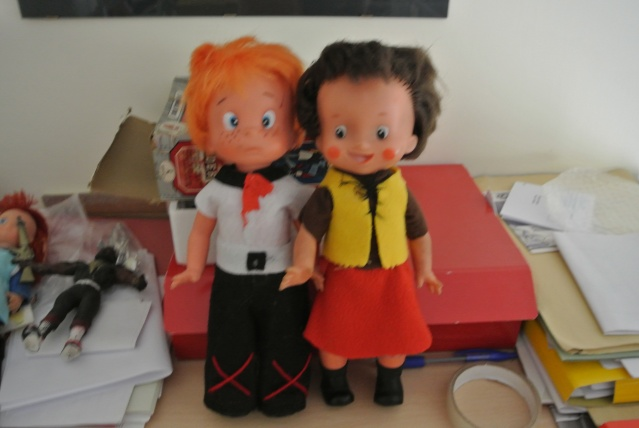 lotto bambole vintage heidi, peter anna dai capelli rossi Dsc_3310