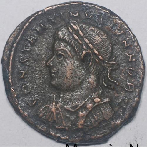Constantin II nummus pour Alexandrie Consta11