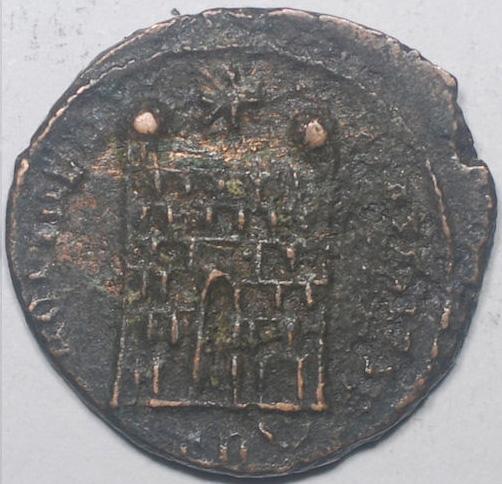 Constantin II nummus pour Alexandrie Consta12