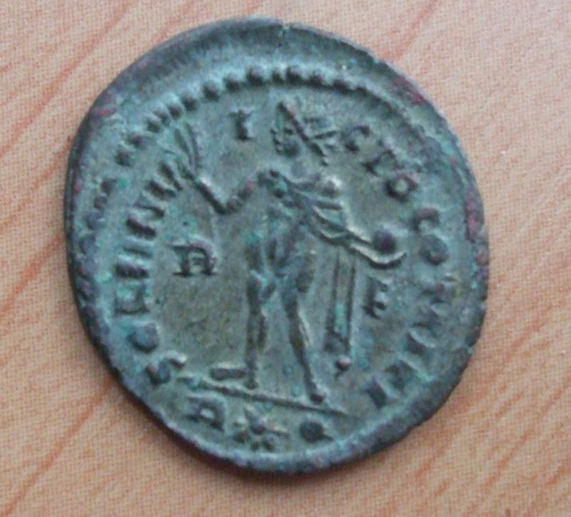 nummus de CONSTANTIN Ier pour Rome Consta14