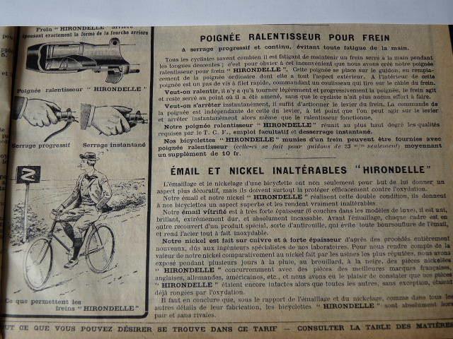 HIRONDELLE 1925/ 1935 P1030110