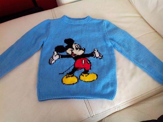 les tricots d'elisa  Mickey10