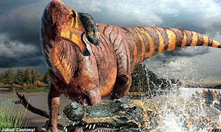 Dinosauri me hundë të stërmadhe  Dinosa10
