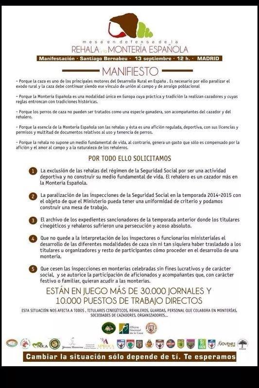 The Hunter España en apoyo a la rehala española 2s7uwo10