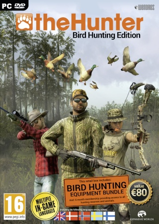 Packs The Hunter 2014, 2015 y Birds Edition Wen47210