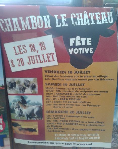 CHAMBON LE CHATEAU (48) WE 18-19-20 20140710