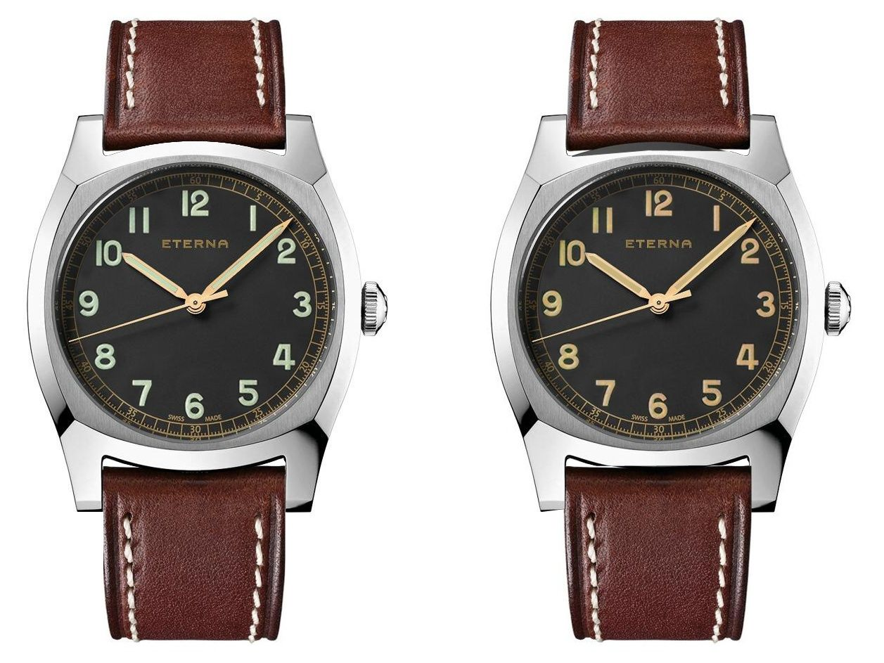 Eterna - News : Eterna Heritage Military 1939 - Page 2 Captur11